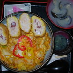 あげいん - 料理写真:タコキムチ丼