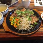 さらんちぇ江戸堀 - 壺漬け豚ロース定食