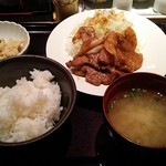 40362832 - 豚の生姜焼き定食¥1000