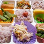 サンライズ - ヘルシー弁当¥400アップ