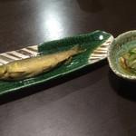 くろつぼ - 鮎の煮浸し最高です!