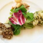 ラディーチェ - 前菜3種盛り