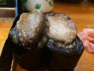 福寿司 - トコブシ  このトコブシは神