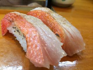 福寿司 - 金目鯛
