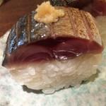烏丸元気市場 - 鯖寿司(399円)。