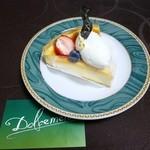 ドルチェメンテ - イタリアンチーズケーキ¥400