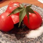 食楽酒 なおづ - ☆フルーツトマト 甘くて美味しいです。