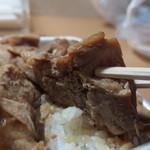 玉屋旅館 - お肉のアップ