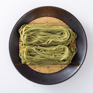 【「近江土山茶」の香りと味わいを凝縮◎茶そば】