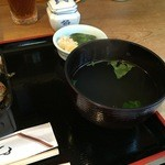 おが和 - 鶏スープ。