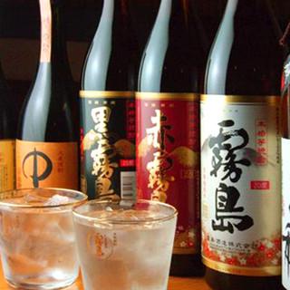 『地酒・本格焼酎』圧巻の品揃え!当店の創作料理に最適です!!