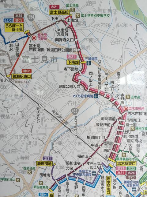 駅 表 時刻 志木 バス