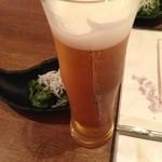 EN別邸 - 生ビール