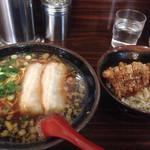 40370678 - 醤油ラーメン&豚から丼