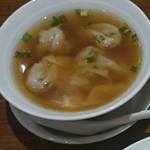 梅蘭 - ワンタンスープ