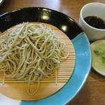 志な乃 - 石臼挽き蕎麦 1030円
