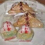 ましけマルシェ - 山崎菓子舗の銘菓