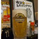 てらきん - 「生ビール」(2014.12)