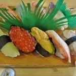 寿しの三福 - 料理写真:特上寿司 1950円