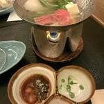 40379065 - 夕食-牛しゃぶしゃぶ鍋(2015/7)
