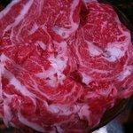 柏木 - しゃぶしゃぶ肉