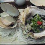 4038406 - ハマグリと牡蠣