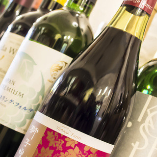 山梨県は、葡萄、ワインの産地