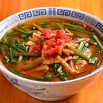 さかえや - 料理写真:満州ニララーメン