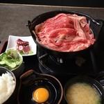 40393626 - 牛すき焼き膳 ¥900
