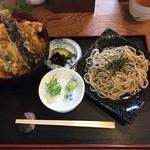丸福 - 天丼小ざる
