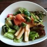 Cafe Chillax - Lunch セット サラダ
