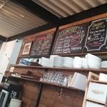 Cafe Chillax - 店内のメニューボード