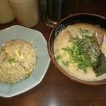 博多ラーメン 長浜や - チャーハンセット  ¥650