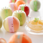 甘泉堂 - ~ふるーつぜりー~ まるで本物の果実のような容器入りのフルーツゼリーです。3月下旬~9月.10月までの販売。シーズン中、完売次第終了です。