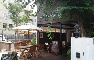 Cafe Chillax 中目黒 - 店外 テラス