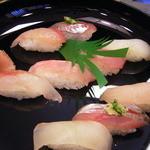 寿司の海女屋 - 地魚にぎり・金目や鯵など
