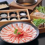 黒豚料理 寿庵 - 料理写真:寿庵名物 塩しゃぶしゃぶ