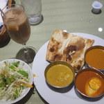 インド料理マントラ - ソフトドリンク(アイスチャイ)付きで、1,250円。まあ、値段的には普通かな。