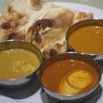 インド料理マントラ - 最初に食べたナンはパサパサしていた。