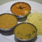 インド料理マントラ - ターメリックライスは、いい感じ。