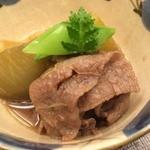 40409712 - 銀座奥田(尾崎牛と京茄子の煮物)