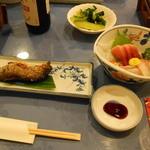 忍野温泉 - 料理写真:夕食