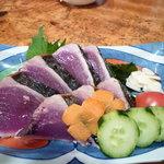 居酒屋 多ヌ来 - 料理写真:かつおの塩たたき