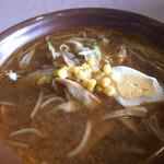 れんげ草 - 味わい深い味噌ラーメンです