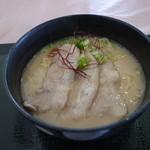 れんげ草 - もう一度食べたい限定メニューのとんこつラーメン