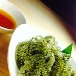 じまんや - ぷっちぷちの海ぶどう 糸満産の粒の大きな海ぶどう!!海ぶどうって美味しいのね!!