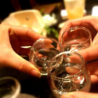 【季節の日本酒】厳選された豊富なお酒