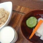 kitchen soya - ミニ豆乳、おから、漬物
