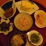 定食サトウ - 定食セットの小鉢
