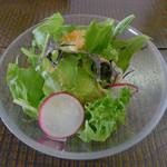 晴れ屋 - カレー付属のサラダ